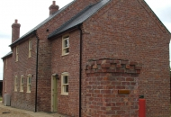 Old large farmhouse or just very good brick match on the extension?? 1