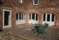 Style 68 double glazed all timber inward opening windows and doors with insulated panels - Gainsborough.