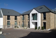 Hendras Hotel-Combi Alu outward opening windows and Thermo HS ALu lift & slide doors - St Ives